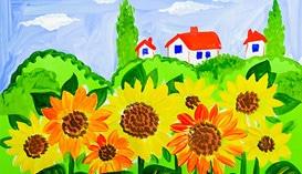 Учимся рисовать пейзажи