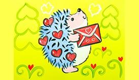 Рисунки и Открытки ко Дню Святого Валентина
