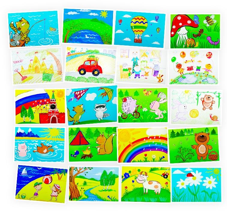 Онлайн-курс лепки для детей «Рисуем Лето» SkillBerry