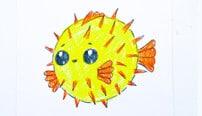 Пошаговые техники рисования Подводных обитателей