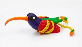 Лепка из Пластилина: Птицы