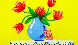 Рисунки и Открытки к 8 марта