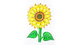 Рисуем восковыми мелками: Растения