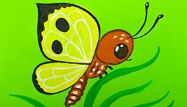 Учимся рисовать Бабочек