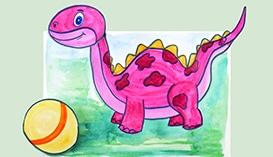 Объемные картины: Динозавры