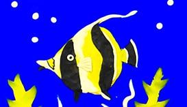 Рисование Пластилином: Подводный мир