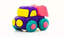 Лепка из Пластилина: Машинки