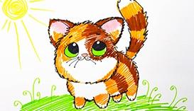 Рисуем Домашних Животных фломастерами