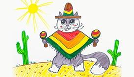 Рисуем Фломастерами: Кошки и котята