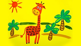 Рисование для детей 3-8 лет. Набор №7