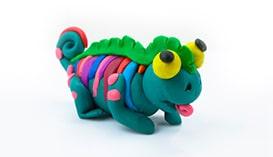Лепка из Пластилина: Необычные животные