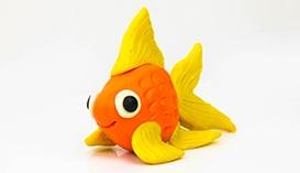 Лепка из Пластилина: Рыбки