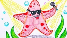 Рисуем Фломастерами: Подводный мир