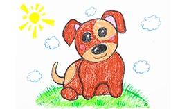 Рисуем восковыми мелками: Домашние Животные