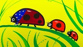 Рисуем Гуашью: Семейки Животных