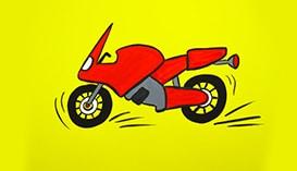 Рисуем Гуашью: Мотоциклы