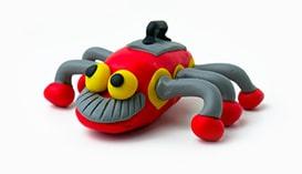 Лепка из Пластилина: Роботы