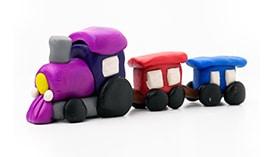 Лепка из Пластилина: Пассажирский Транспорт