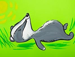 Рисуем Гуашью: Лесные Животные