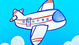 Рисуем Гуашью: Самолеты, Ракеты, Воздушные Шары