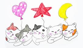 Рисуем Карандашами: Кошки и Котята