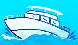 Рисуем Гуашью: Корабли и Подводные Лодки