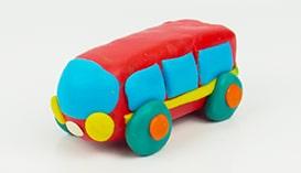 Лепка из Пластилина: Транспорт