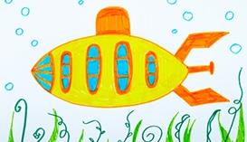 Рисуем Фломастерами: Корабли и Подводные Лодки
