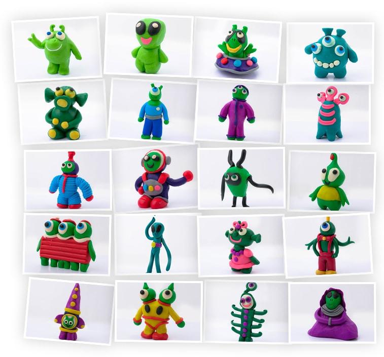 Онлайн-курс для детей «Лепка из Пластилина: Инопланетяне» SkillBerry