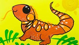 Учимся рисовать Рептилий