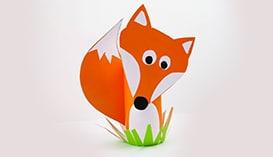 Поделки из бумаги и картона: Животные